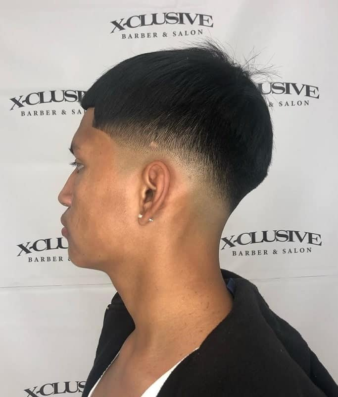 short bowl cut for men