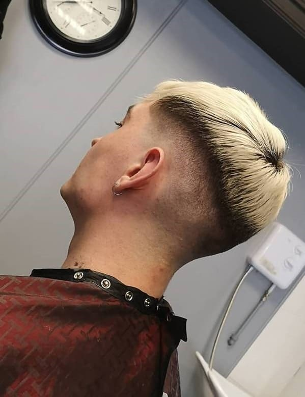 Bowl Cut for Blonde Hair with Dark Roots