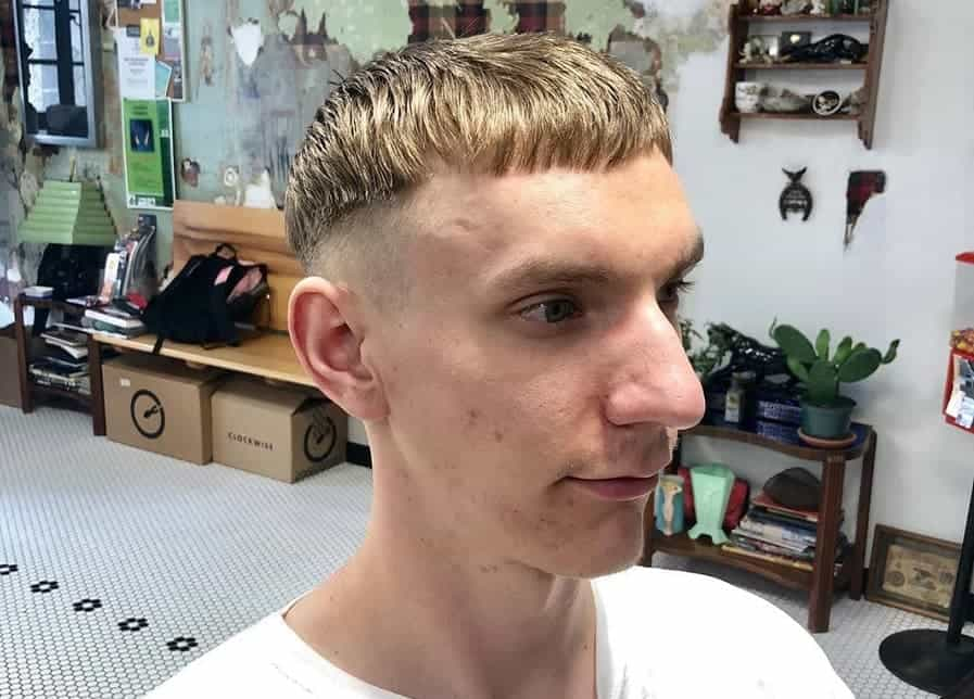 How to Get Men's Bowl Cut