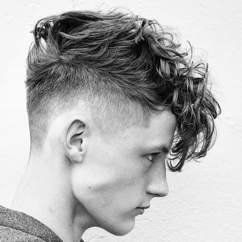 30 Trendiest Long On Top And Short On Sides Haircuts For Boys