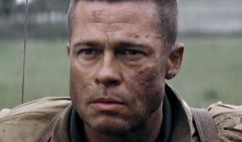 How to Get the Brad Pitt's Fury Hairstyle