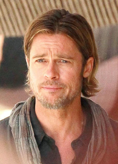 Brad Pitt Long Hair Movie