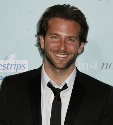 Bradley Cooper cool wavy celebrity hairstyle