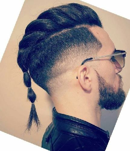 How to Style Men's Braided Mohawk