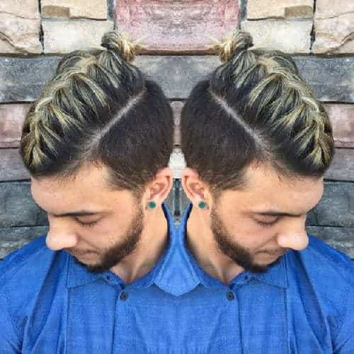French Braided Mohawk