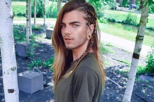 long braids for men