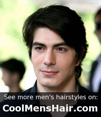 Men hairstyle from Brandon Routh.