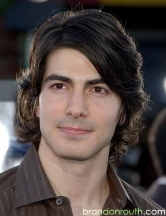 Routh's hairstyle