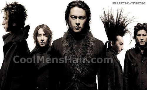 Picture of Buck-Tick Japanes Rock band hairstyles.