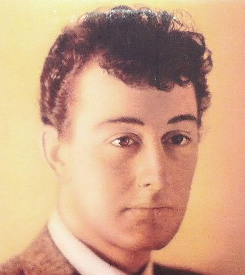 Photo of Buddy Holly hairstyle.