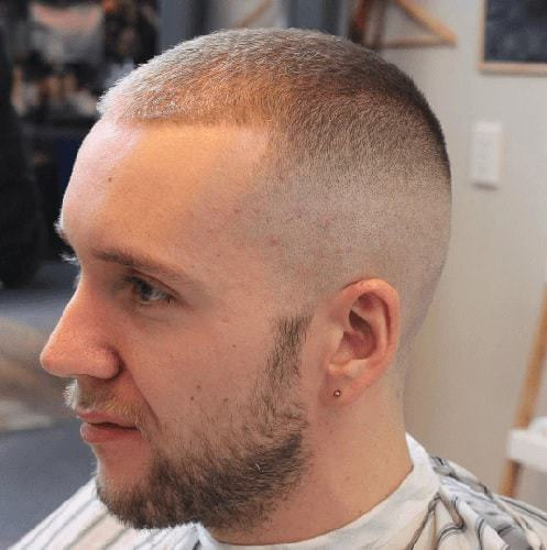 Burr Cut with Fade