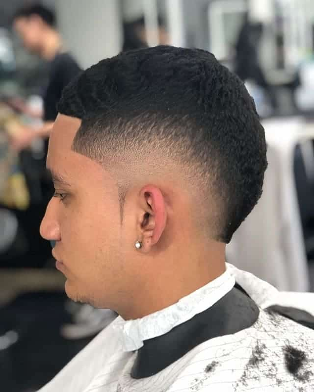 burst fade haircuts for men