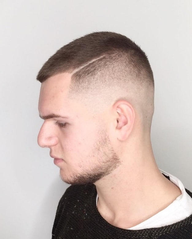 Butch Cut with Fade