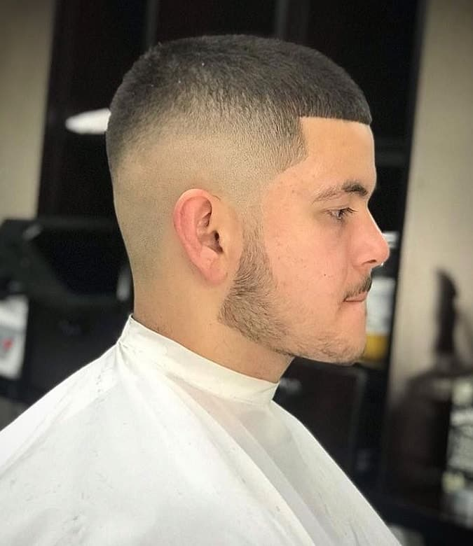 guy with butch cut hairstyle