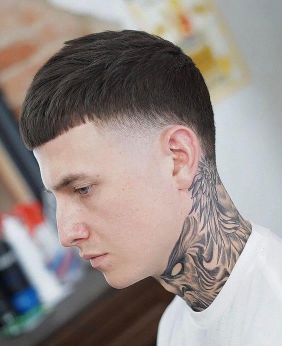 caesar haircut for guys