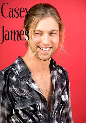 Casey James bangs hairstyle image