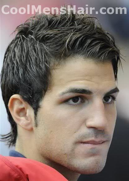 Photo of Cesc Fabregas hairstyles.