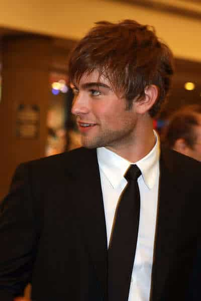Image of Chace Crawford hairstyle.