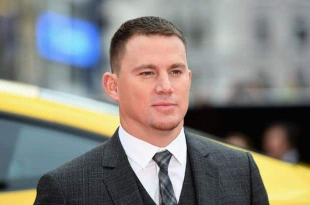 Channing Tatum 2018 haircut