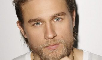 Charlie Hunnam (Jax Teller) Long Comb Back Hairstyle