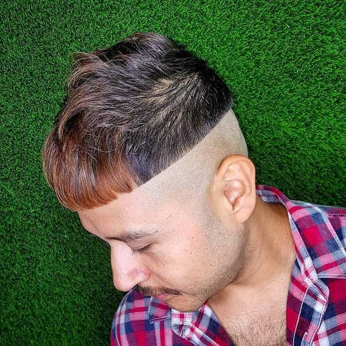 Chili Bowl Haircut with Shaved Sides