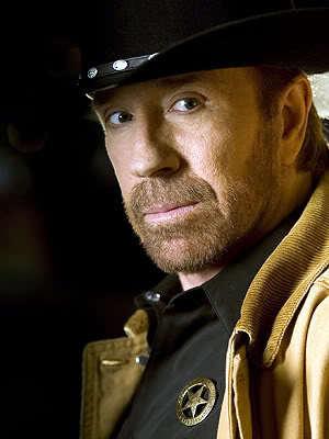 Chuck Norris full beard