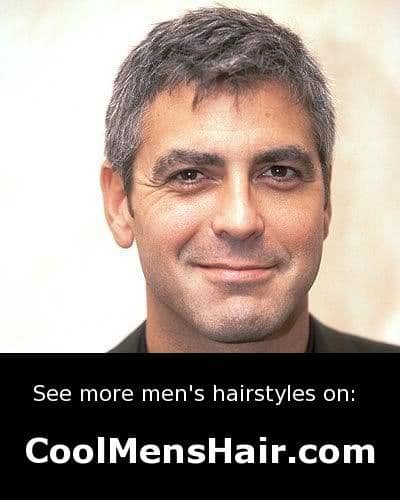 Clooney hairstyle