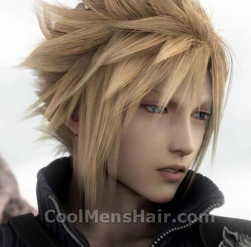 Picture of Cloud Strife hair.