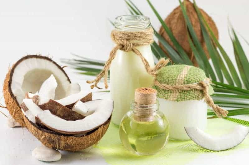 coconut oil benefits for African American black hair