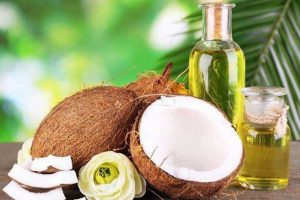 coconut oil for men's hair care