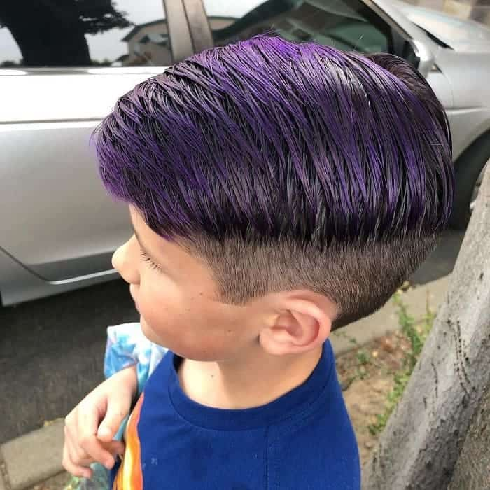 funky boys comb over hairstyles