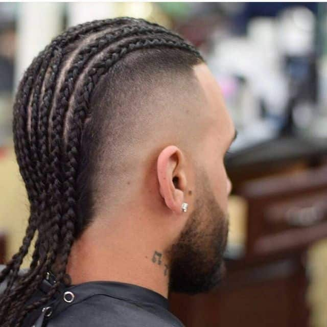cornrow mohawk for men