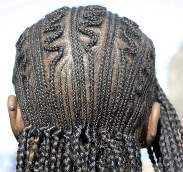 cornrow styles for men long hair
