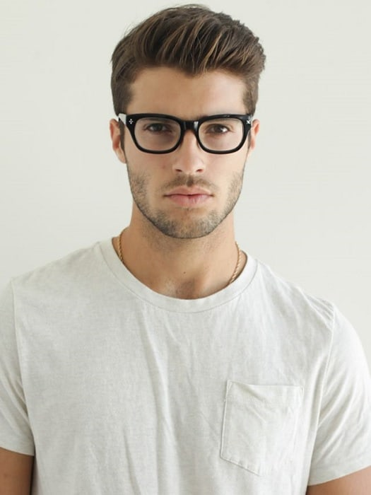 country hairstyle with hipster look