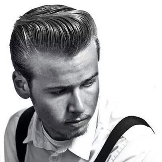 Pompadour Hairstyles for country hair look