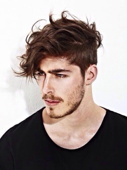 Angular Cowlick Hairstyle