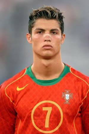 Cristiano Ronaldo Hairstyles Curly Faux Hawk Mullet Taper