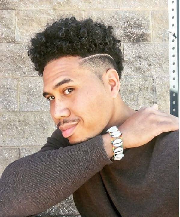 8 Amazing Curly Faux Hawks for Robust Men – Cool Men's Hair