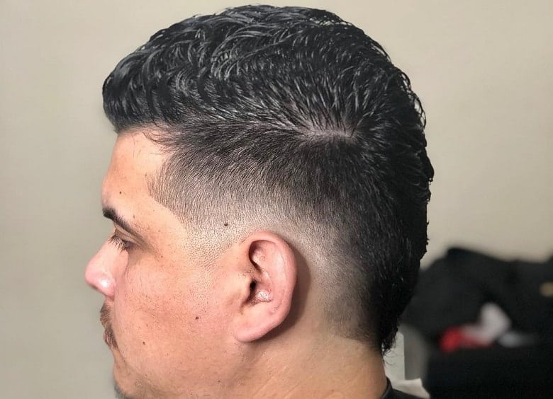 How to Get A Curly Faux Hawk