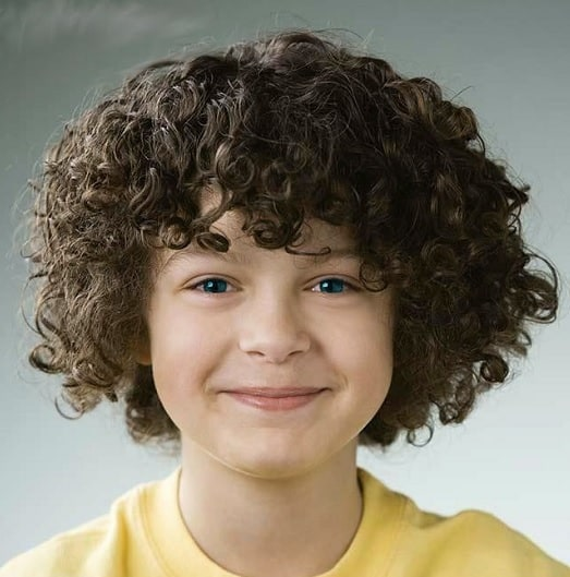 curly bob haircut for toddler boy