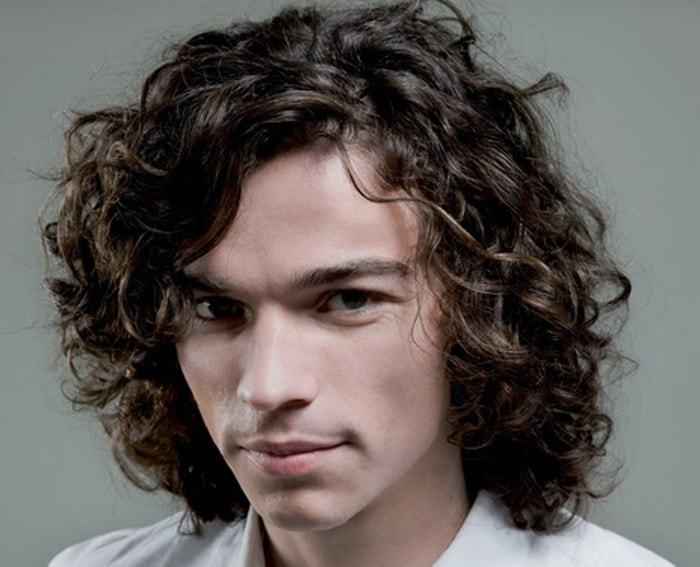 Hairstyles For Men With Curly Hair Long 64