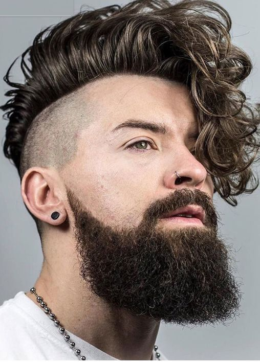 20 Ideal Mohawk Styles For Men With Curly Hair 2020 Update