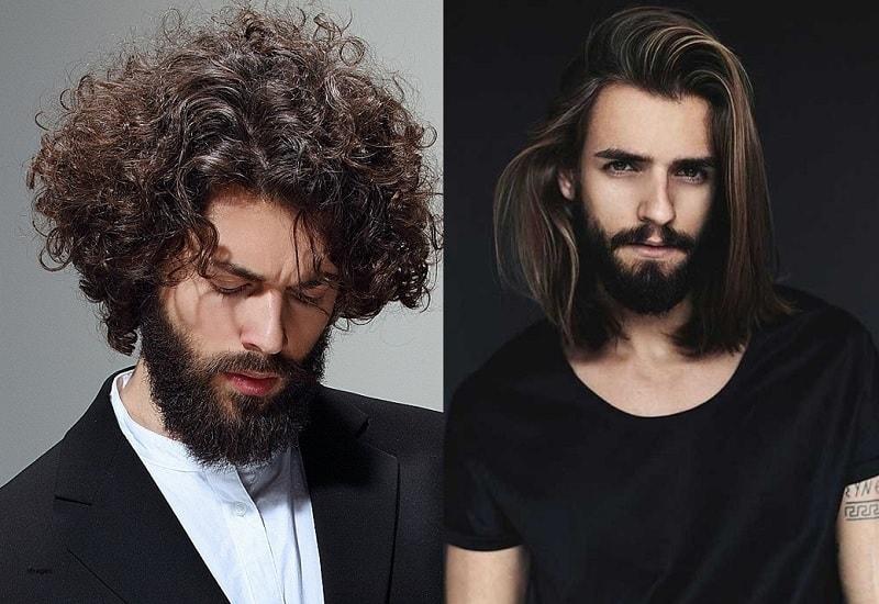 curly vs straight hair men