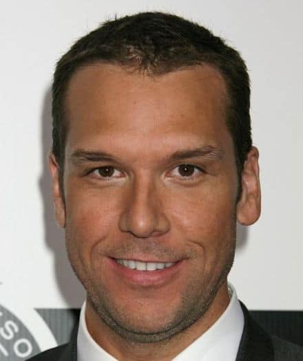 Dane Cook short hairstyle.