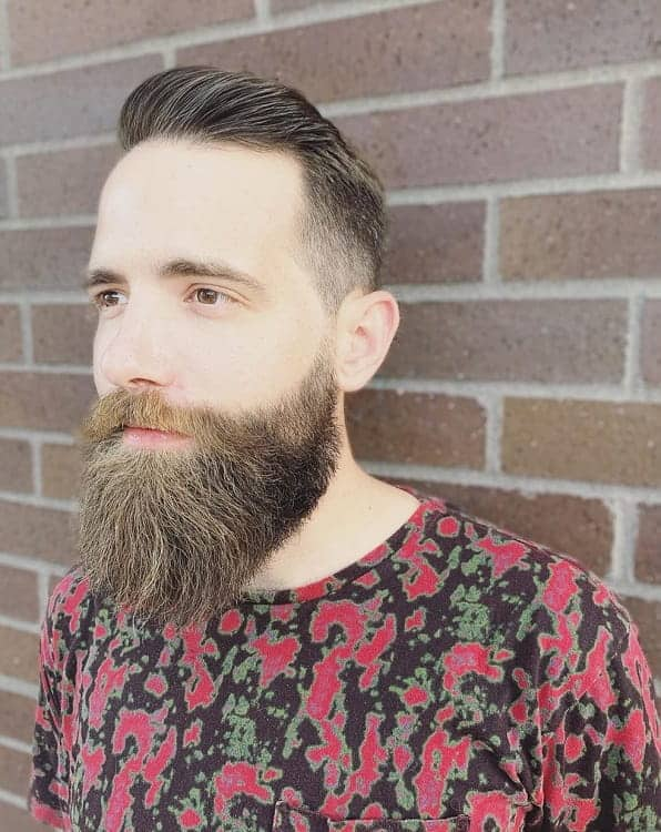 Dapper Haircut With Beard