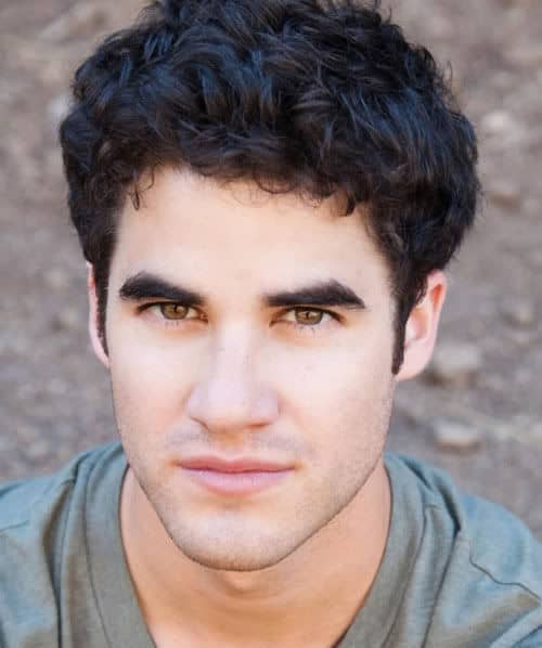 Photo of Darren Criss hairstyle.