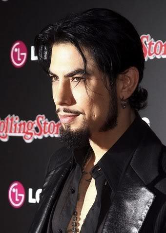 Dave Navarro hairstyle