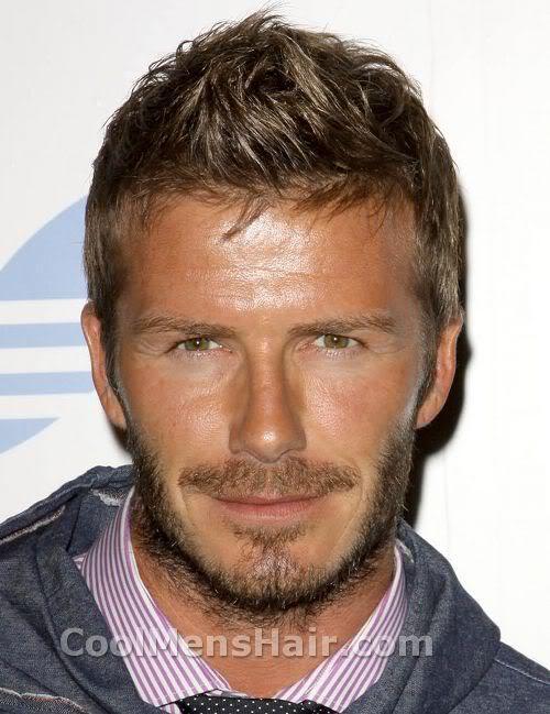 Photo of David Beckham beard style