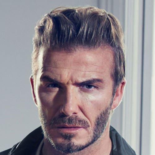 David Beckham's hairstyle