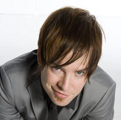 Shaggy men's style from David Cook